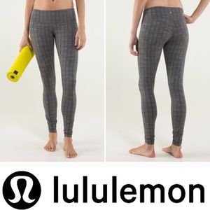 🦊 Lululemon Wunder Under Pant *Textured